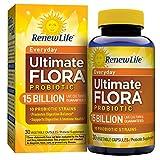 Renew Life Everyday Probiotic, Ultimate Flora, 15 Billion, 30 Capsules