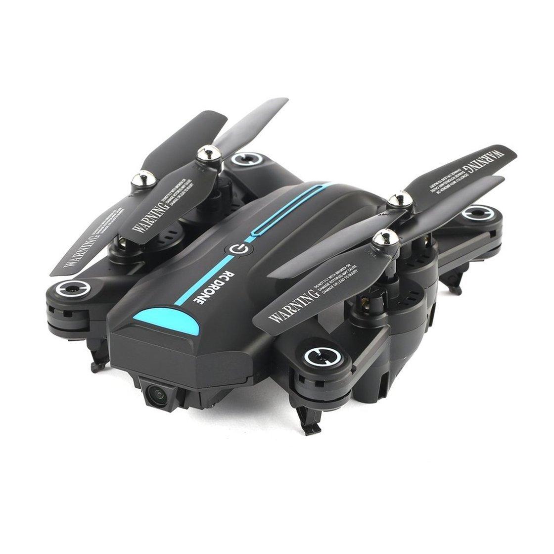 Laurelmartina A6W Plegable RC Drone 2.4G Wi-Fi FPV 720P Gran Angular cámara HD RTF Quadcopter con Sensor de Gravedad Altitude Hold Modo sin Cabeza