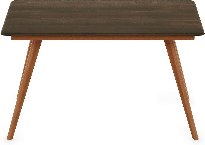 Furinno FSTS18012WN Redang Indoor & Outdoor Smart Top Table, Rectangular, Walnut