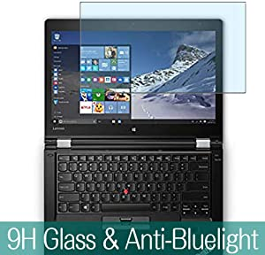 "Synvy Anti Blue Light Tempered Glass Screen Protector for Lenovo Thinkpad Yoga 460 14"" Visible Area 9H Protective Screen Film Protectors"