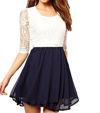 Chiffon Mini Dress