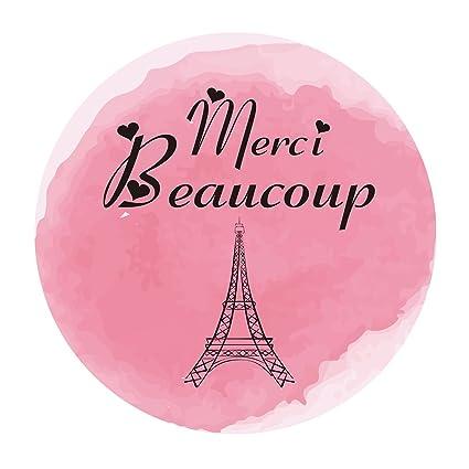 ce92b4773b0 Amazon.com  MAGJUCHE Paris Thank You Stickers