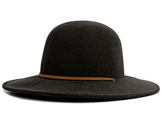 d0bacf76 Brixton Men's Floppy hat Tiller black: Amazon.co.uk: Clothing