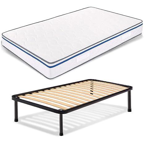 Easy colchón de plaza y media de espuma viscoelástica, 120