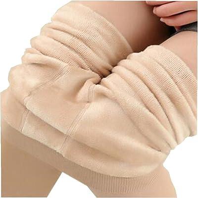 ying gui Women's Fashion Leggings Winter Warm Women Velvet Elastic Leggings Pants Slim Super Elastic Leggings