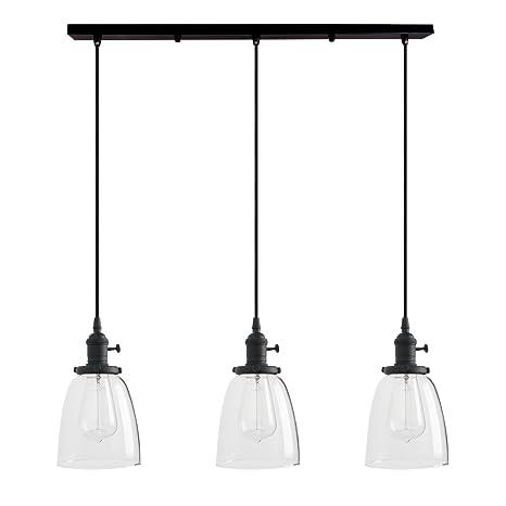 Pathson - Lámpara de techo colgante con forma de globo de ...
