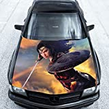 Superhero Wonder Woman Movie Full Color Car Decal, Superhero Wonder Woman Movie Full Color Car Sticker, KC-1065 FRST(52''x65'')