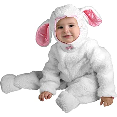 Amazon.com: Infant Farm Animal Baby Lamb Halloween Costume (6-18 ...