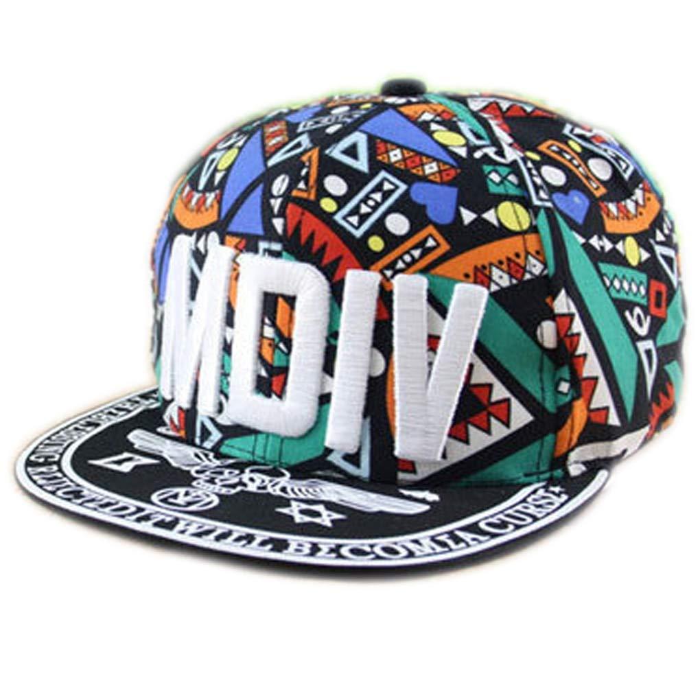 WOFDDH Gorra De Beisbol,Gorra Ajustable Popular Graffiti Hip Hop ...