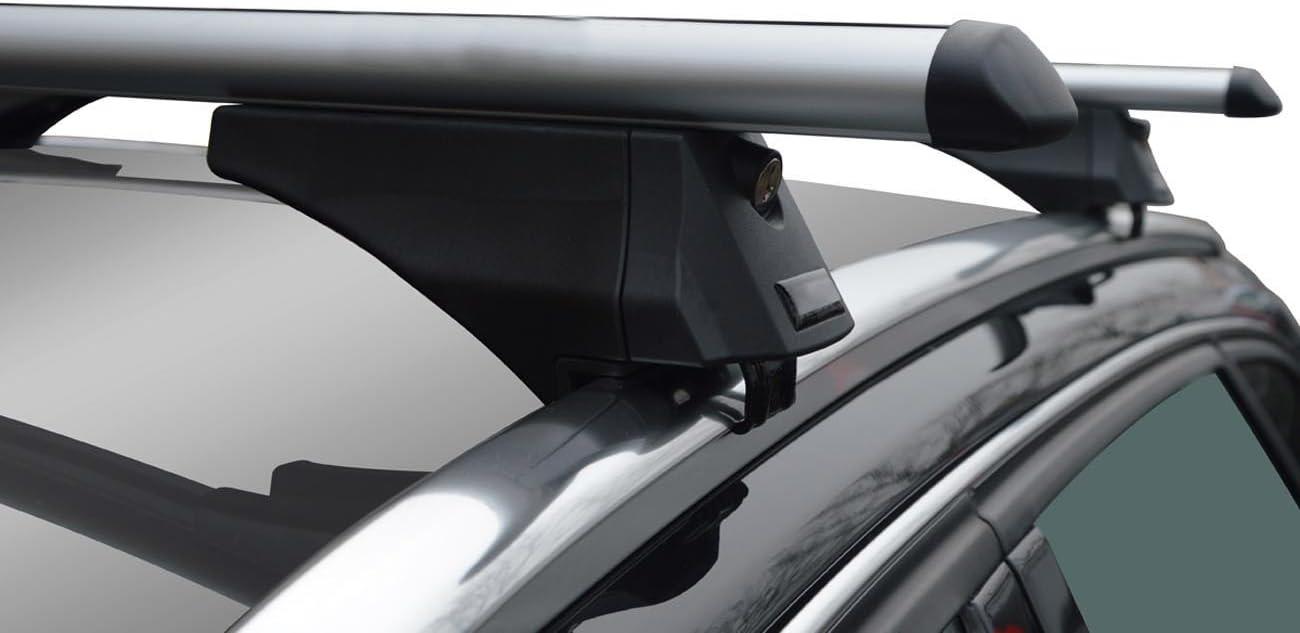 VDP Alu Relingtr/äger CRV107A kompatibel mit Hyundai ix35 5 T/ürer 2010-2015 abschliessbar