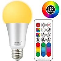Jayool 120 Colours Choice Colour Changing Light Bulb