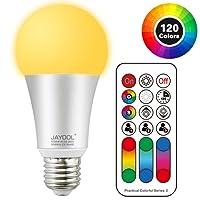 Jayool 120 Colours Choice Colour Changing Light Bulb