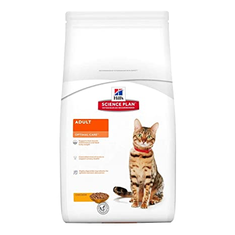 Hills Science Plan - Alimento para gatos con pollo (10 kg)