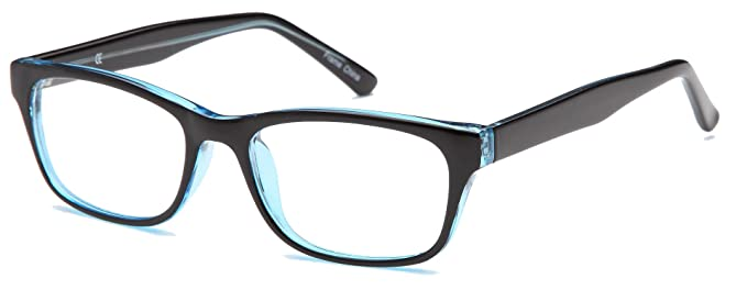 1a87855031 Image Unavailable. Image not available for. Colour  Unisex Wayfarer  Prescription Glasses Frames Size ...