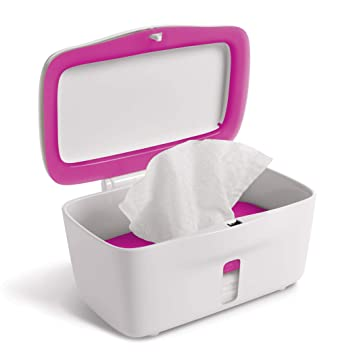 Pink Oxo Tot On-The-go Wipes Dispenser