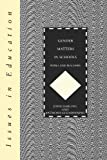Gender Matters in Schools : Pupils and Teachers, Darling, John and Glendinning, Anthony, 0304328057