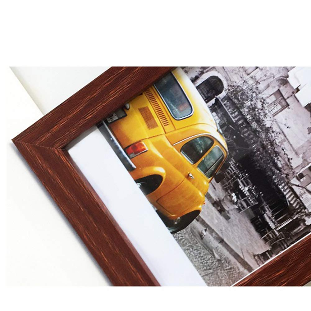 A4 Picture Frames Made of Solid Wood High Definition Glass for Table Top Display and Wall Mounting Photo Frame