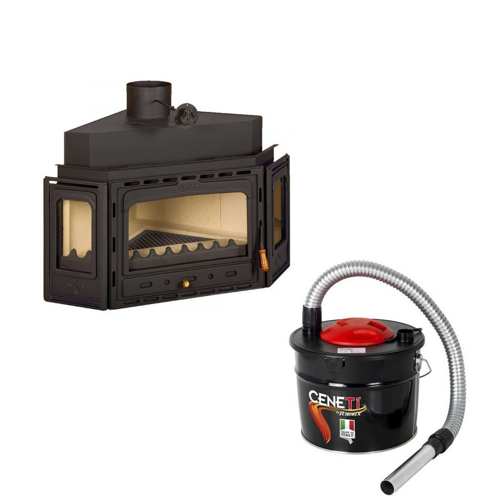 Combustión de madera chimenea Insertar Prity, Modelo ATC ...