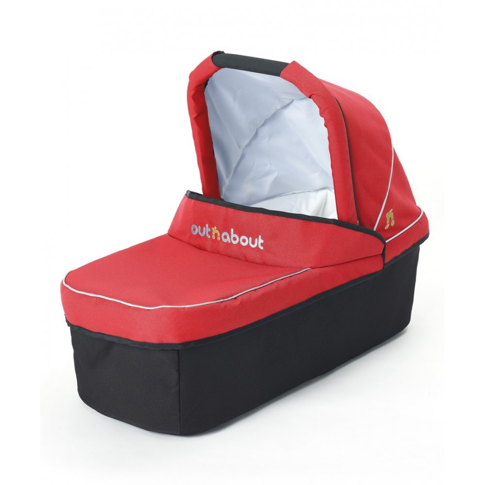 Out 'N' About Nipper Carry Cot - Carnival Red Out 'n' About