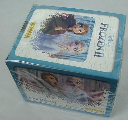 50 Unopened Packs Panini Disney Frozen Box of Album Stickers 350 Stickers