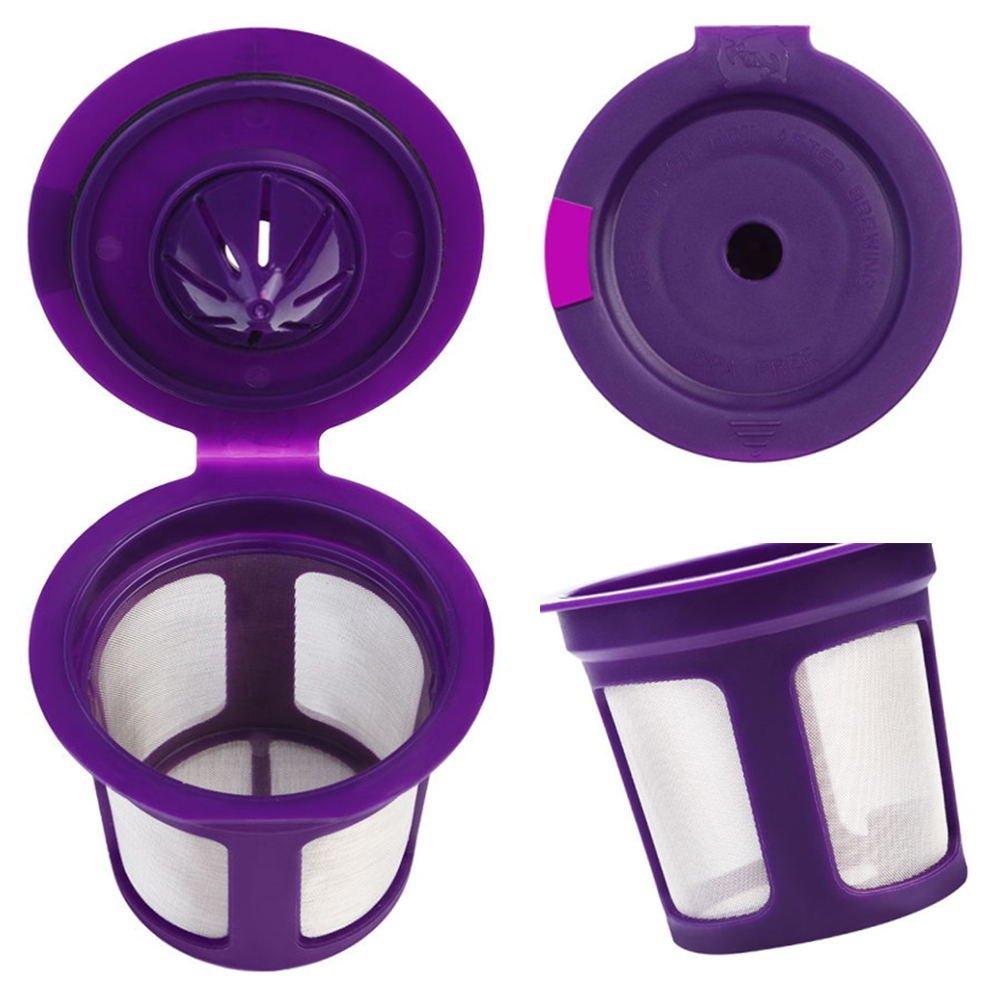 Amazon.com: ZaKura K-Cup - Filtros de café reutilizables ...
