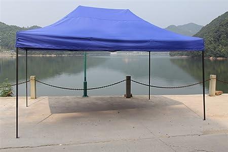 El toldo All Seasons Gazebos, de 3 x 4, 5 m, es resistente, impermeable, revestido de PVC más bolsa con ruedas para su transporte y 4 bolsas de contrapesos ...