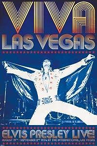 Elvis Presley Viva Las Vegas Cool Wall Decor Art Print Poster 24x36