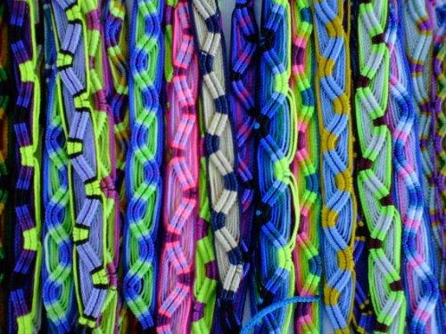 Bold Woven Bracelet - Wholesale Lot of 100 Peruvian Friendship Bracelets