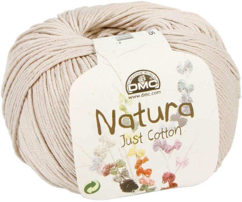 DMC Hilo 100% algodón Natura, Color Beige Salomé n.º 80: Amazon.es: Hogar