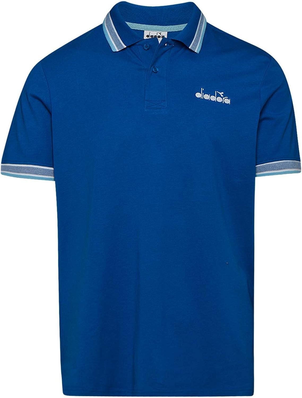 Diadora - Camiseta Tipo Polo SS Polo CHROMIA para Hombre: Amazon ...