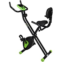 ZAAP Fitness Folding X-Bike Recumbent Upright Exercise Bike