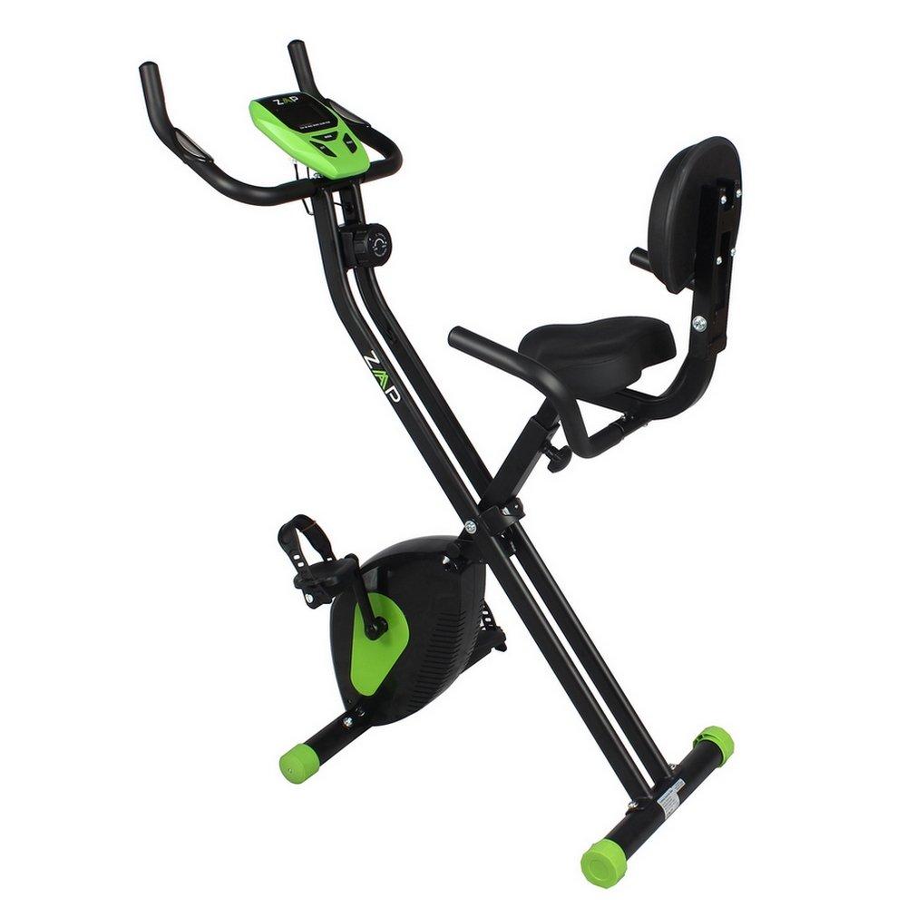 ZAAP Fitness Folding X-Bike Recumbent Upright Exercise Bike by ZAAP