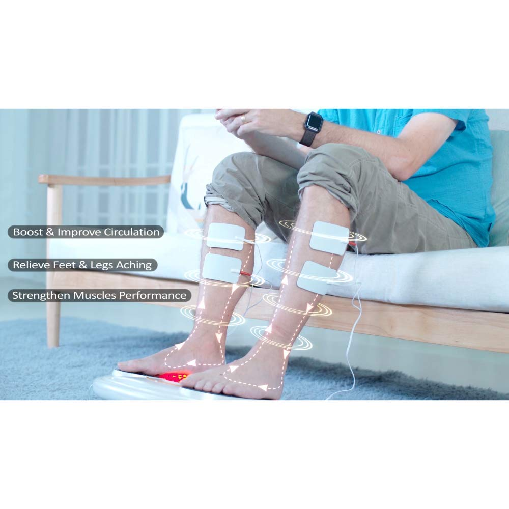 EMS Foot Massager/Foot Circulation Device- Boost Circulation & Relieve Aching Feet and Legs, Strengthen Leg Muscles by OSITO (Image #5)