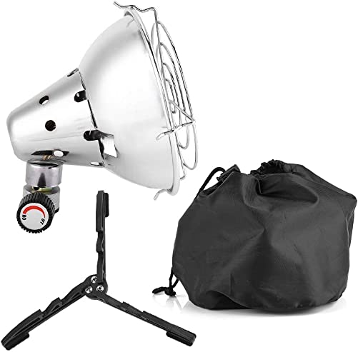 Zer one Outdoor Gas Heater, Portable Lightweight Travel Camping Tent Warm Cover Outdoor Portable Mini Gas Heater
