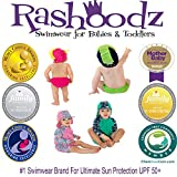 Rashoodz Cloth Reusable Baby Girls Swim Diaper