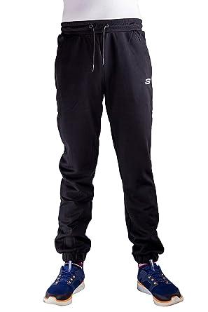 Skechers Herren Jogginghose Jogginghose Fitness Trainingsanzug Hosen Mit Saum Mit Manschetten