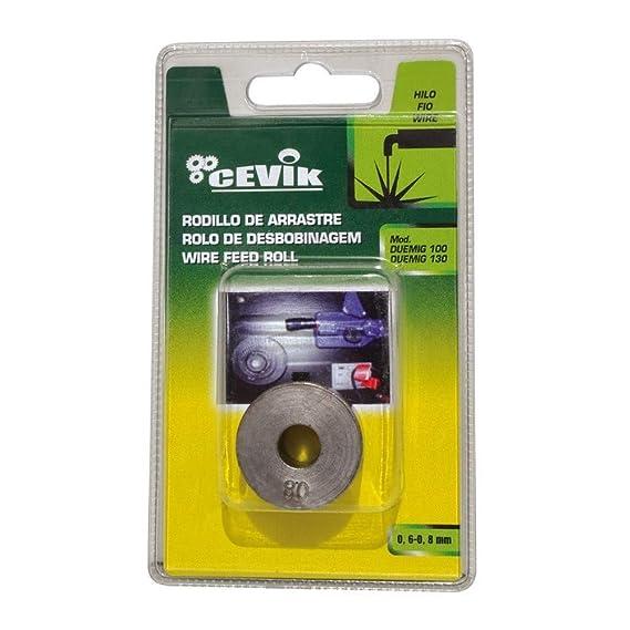 Cevik CE-ROLDANA - Rodillo de arrastre para hilo 0,6-0,8 mm: Amazon.es: Bricolaje y herramientas