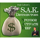 Network Marketing Training HOW TO SAK DISTRIBUTORS Sponsor Activate and Keep - Classic MLM Training Audio CD by Dale Calvert