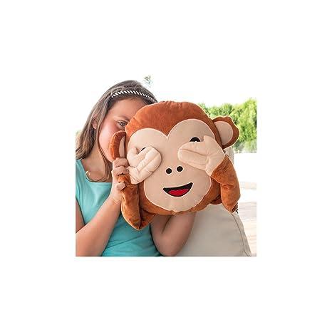 Cojín Emoticono Monkey