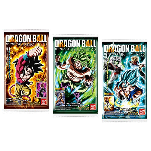 - Dragon Ball Card Wafer Unlimited 2 20Pack Box (Candy Toy)