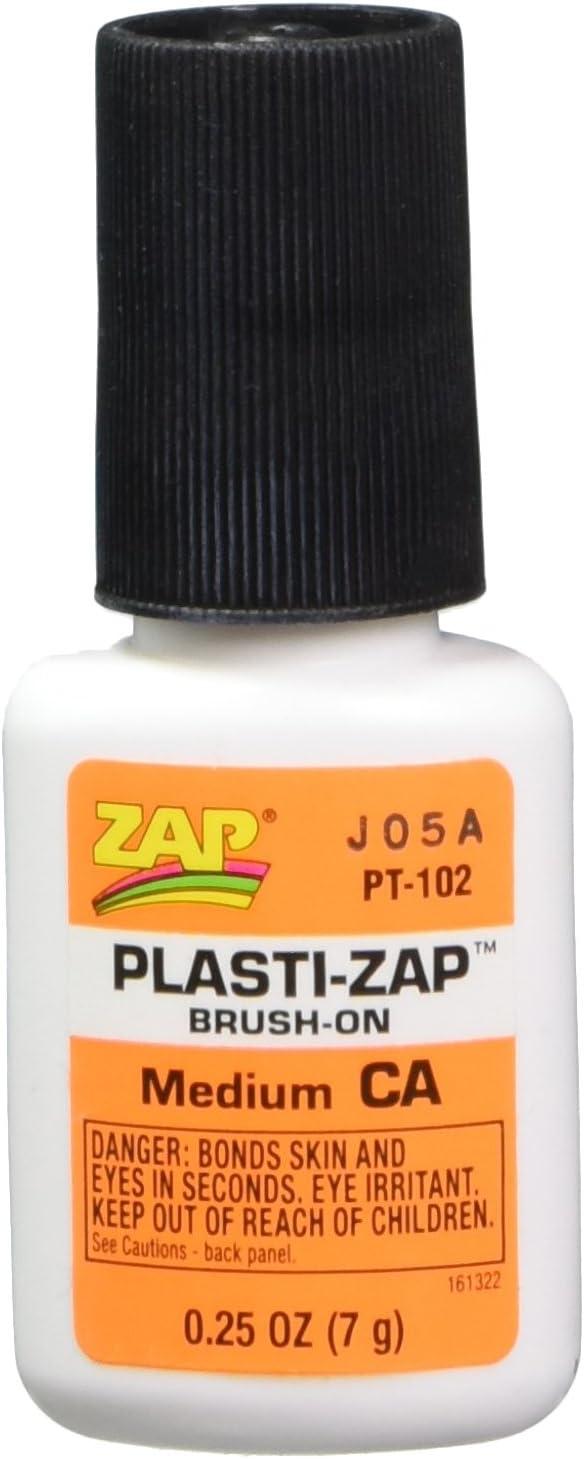 Opening large release sale ZAP ADHESIVES PT102 Tucson Mall Plasti-Zap CA 1 Brush On 4oz