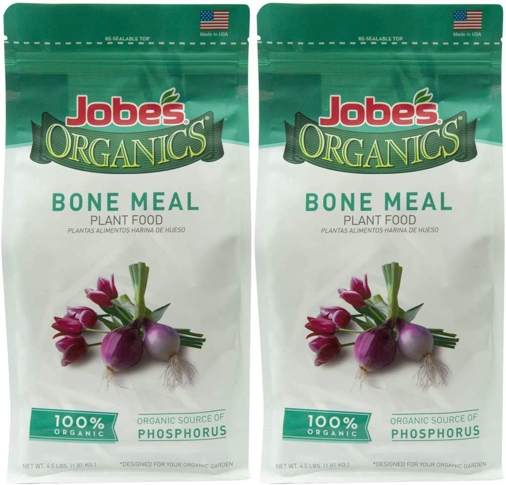 Jobe's Organics Bone Meal Fertilizer, 4 lb - 2 Pack