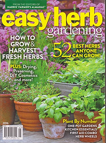 Country Collectibles Magazine 105 Easy Herb Gardening 2016