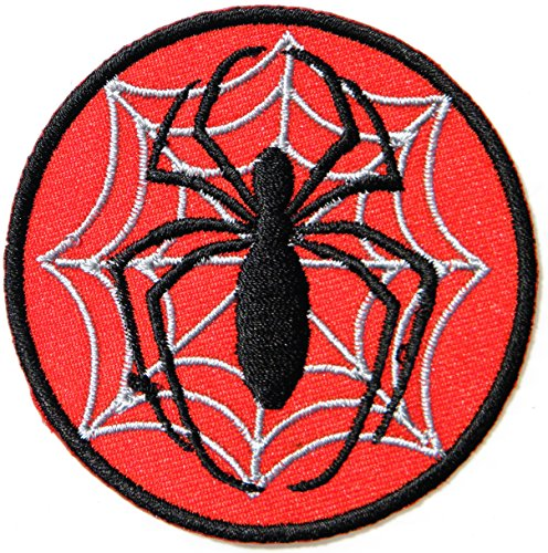 Spider Web Movie Cartoon Logo Kid Baby Jacket T-shirt Patch Sew Iron on Embroidered Sign Badge Costume Clothing