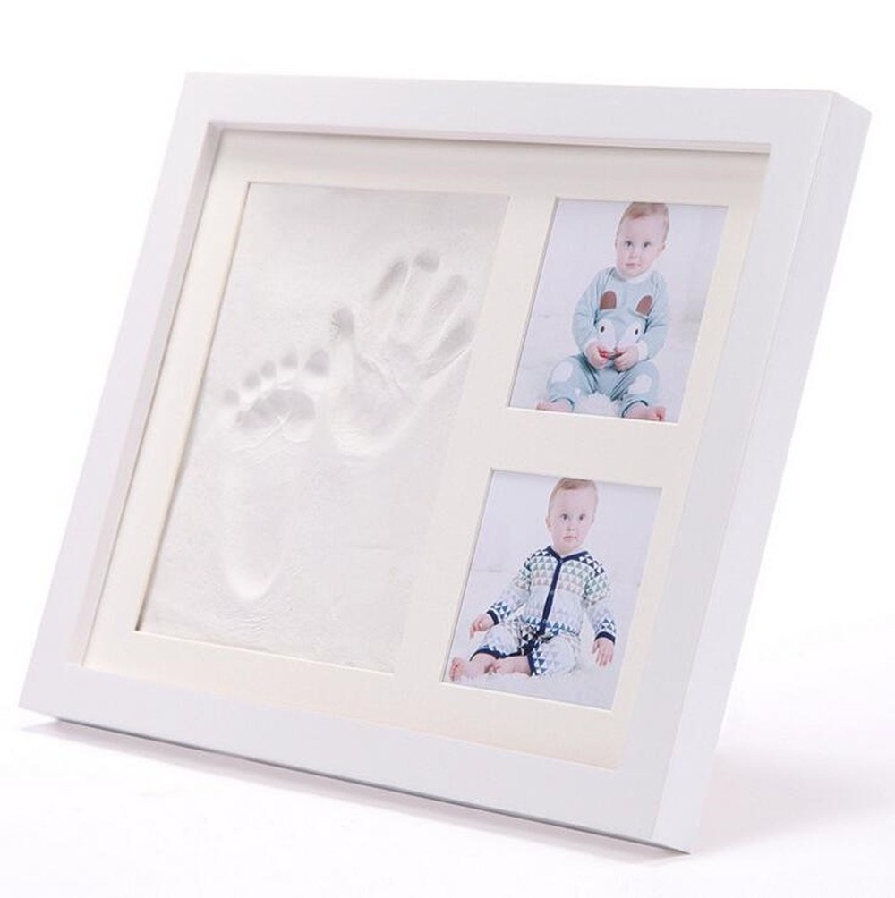 Emwel Baby Hand Print Kit Newborn Picture Frame Baby Shower Gifts ...