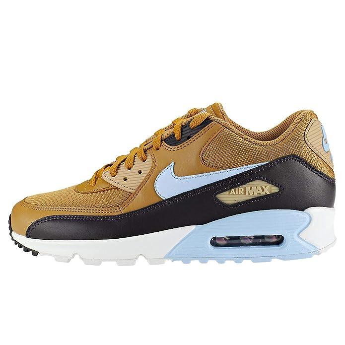 Nike Men s Air Max 90 Essential Low-Top Sneakers  Amazon.co.uk  Shoes   Bags 7418ea995