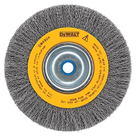 Magnificent Dewalt Wire Wheel For Bench Grinder Crimped Wire 8 Inch Dw4906 Gmtry Best Dining Table And Chair Ideas Images Gmtryco