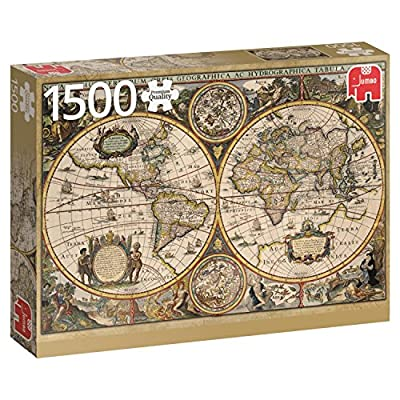 Jumbo 618345 Puzzle Carta Geografica Mondiale Del 1630