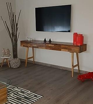 Mienloco Vintage Teak Kommode Kabinett Sideboard Schrank Tisch