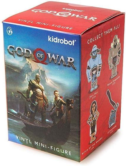 Kidrobot God Of War Blind Box Vinyl Mini Figure New Sealed Box